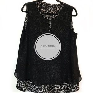 Ellen Tracy Tops - Ellen Tracy Lagenlook top!